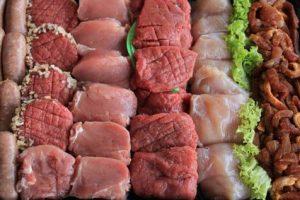 Fleisch zum Raclette