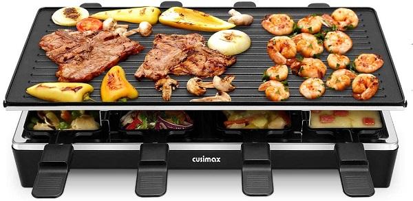 cusimax raclette test