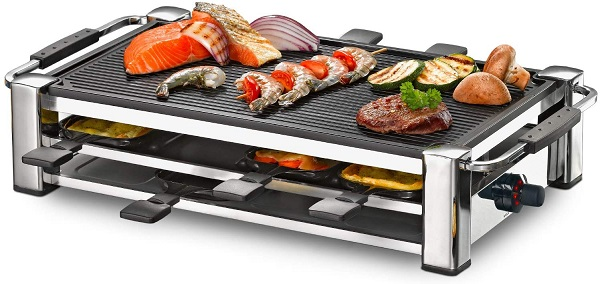 rommelsbacher-rcc-1500 raclette grill